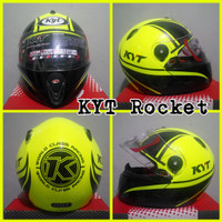 harga Helm Kyt Rocket / Helm Murah / Helm Full Face Tokopedia.com