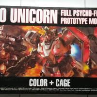MG 1/100 RX-0 Unicorn Full Psycho Frame + Cage DABAN