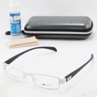 Frame Kacamata Unisex (Cewe / Cowo) Fashion Top Shop 1021 Putih-Hitam