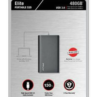SSD PNY Elite Portable 480GB