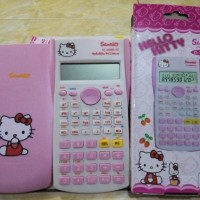 Jual Kalkulator Scientific Imut Hello Kitty - TUPPERWARE Murah