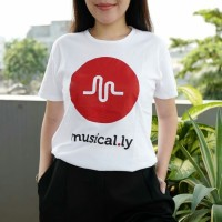 Jual Musically / Tumblr Tee / T-Shirt / Kaos Wanita Murah