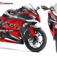 Ninja 250R Fi RED Sporty Terbaru