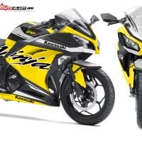 Ninja 250R Fi Yellow Sporty terbaru