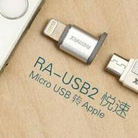 Adapter Converter Micro USB To Lightning Port Iphone RA Murah