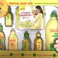 Zwitsal Baby Spa Stimulasi Dini Bayi Gift Set Kado Bayi Baru Lahir