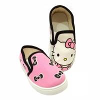 Sepatu Flip On Anak Hello Kitty