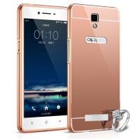 Casing Metal Bumper Mirror For Oppo Neo 3 (r381k)