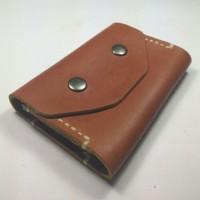 Dompet Kartu Handmade Kulit Asli | Dompet Kulit Jahit Tangan