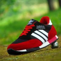 harga Sepatu Pria Sport Adidas Boston Super/Merah Hitam/Casual Ket Cowok Cew Tokopedia.com