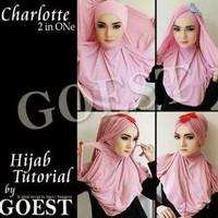 GROSIR | TERMURAH Hoodie Charlotte 2in1