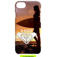 case iPhone 6 6s Plus Roxy Surfing Sunset casing cover hardcase hard