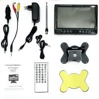 LCD TV Portable 7inch Monitor Hollywood USB SD Av-in Movie Player