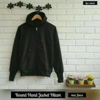 harga Jaket Round Hand Black ( Jas / Sweater / Blazer / Hoodie / Jumper ) Tokopedia.com