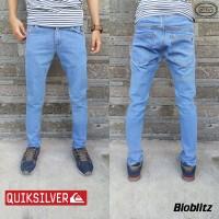 Quick Silver Jeans | Celana Skinny | Slimfit | Bioblitz | Hitam | Bl1