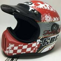 Jual Helm Cakil Merah HBC Fast & Easy Life Red Murah