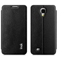 Imak Flip Leather Cover Case Series for Samsung Galaxy J N075T - Bla