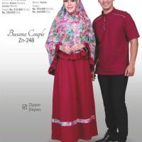 Jual Couple Gamis Syari + Koko Zenitha 248 Murah