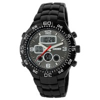 SKMEI Casio Men Sport LED Watch Water Resistant 30m - AD1030 - ..