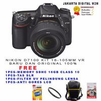 Promo Nikon D7100 Kit 18-140 Vr / Kamera Nikon D 7100 Kit Vr PALING LA