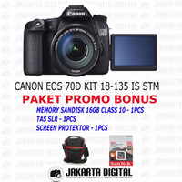 EXCLUSIVE Canon Eos 70d Kit 18-135 Is Stm / Canon Eos 70d Kit 2 Kualit