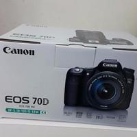 NEW Canon Eos 70d Kit 18-135 Is Stm / Canon Eos 70d Kit 2 TERBAIK