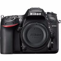EXCLUSIVE Nikon D7200 Body Only / Kamera Dslr Nikon D7200 Bo / Nikon D
