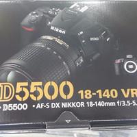 Promo Nikon D5500 Kit 18-140 Vr / Nikon D 5500 Kit TERBAIK
