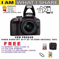 Best Nikon D3400 Af-p Dx 18-55vr / Kamera Dslr Nikon D3400 Kit 18-55vr