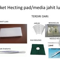 suture pad(paket hecting/mediajahit luka)