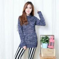 Harga raisa turtleneck twis sweater turtle pakaian | antitipu.com