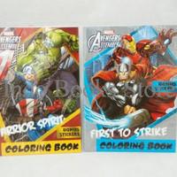 Sale !! Coloring Book Avengers LARGE . Buku Mewarnai Adinata Marvel