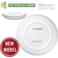 Genuine Samsung Wireless Charging Pad FAST Charger QI For Galaxy S6