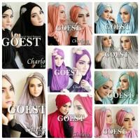 Hoodie Charlotte 2in1 - Jilbab / Hijab / Kerudung / Khimar