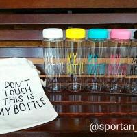 Jual My Bottle Infused Water Free Pouch / Bag 500ml Tritan BPA Free MURAH Murah
