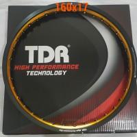 harga Velg Tdr W Shape 160x17 Warna Black/gold Tokopedia.com