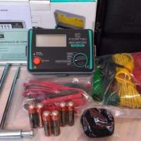 Kyoritsu 4105A Digital Earth Ground Grounding Resistance Tester
