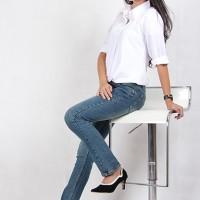 Jual Celana Jeans Wanita Cutbray (9134B) Murah