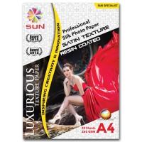 Kertas Foto Silky Doff Kasar A4 - SUN Professional Silk Photo Paper