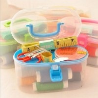 Sewing oval set mini 24pcs box alat jahit benang jarum