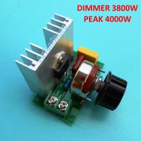 4000w Speed Control Motor Heater SCR AC 220V Dimmer LED Volt Regulator