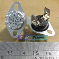 Thermostat Bimetal Sensor Suhu Pemutus Arus Otomatis 250V 10A Saklar Switch Untuk Dispenser Penanak Nasi Heater Oven Microwave