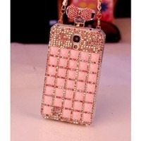 Perfume Bottle Ribbon Board Case - Casing Glamour for Samsung Galaxy