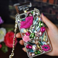 Perfume Lip Case - Casing Glamour for Samsung Galaxy