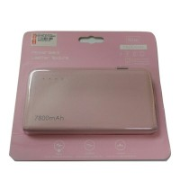 Bcare power bank 7800mAh leather pink | original bcare