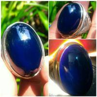Cincin Batu Blue Legend Top Quality