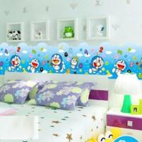 Jual Wall Sticker / Wall Stiker / Wallsticker / Dinding 86 Doraemon Border Murah