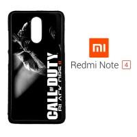 Game Call Of Duty Black Ops II Z0181 Xiaomi Redmi Note 4 Custom Case C