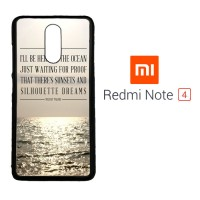 Mayday Parade Quotes X0107 Xiaomi Redmi Note 4 Custom Case Cover