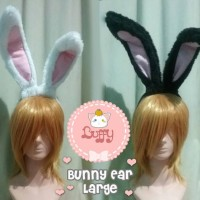 Harga bunny ear bando kelinci usagi mimi large | antitipu.com